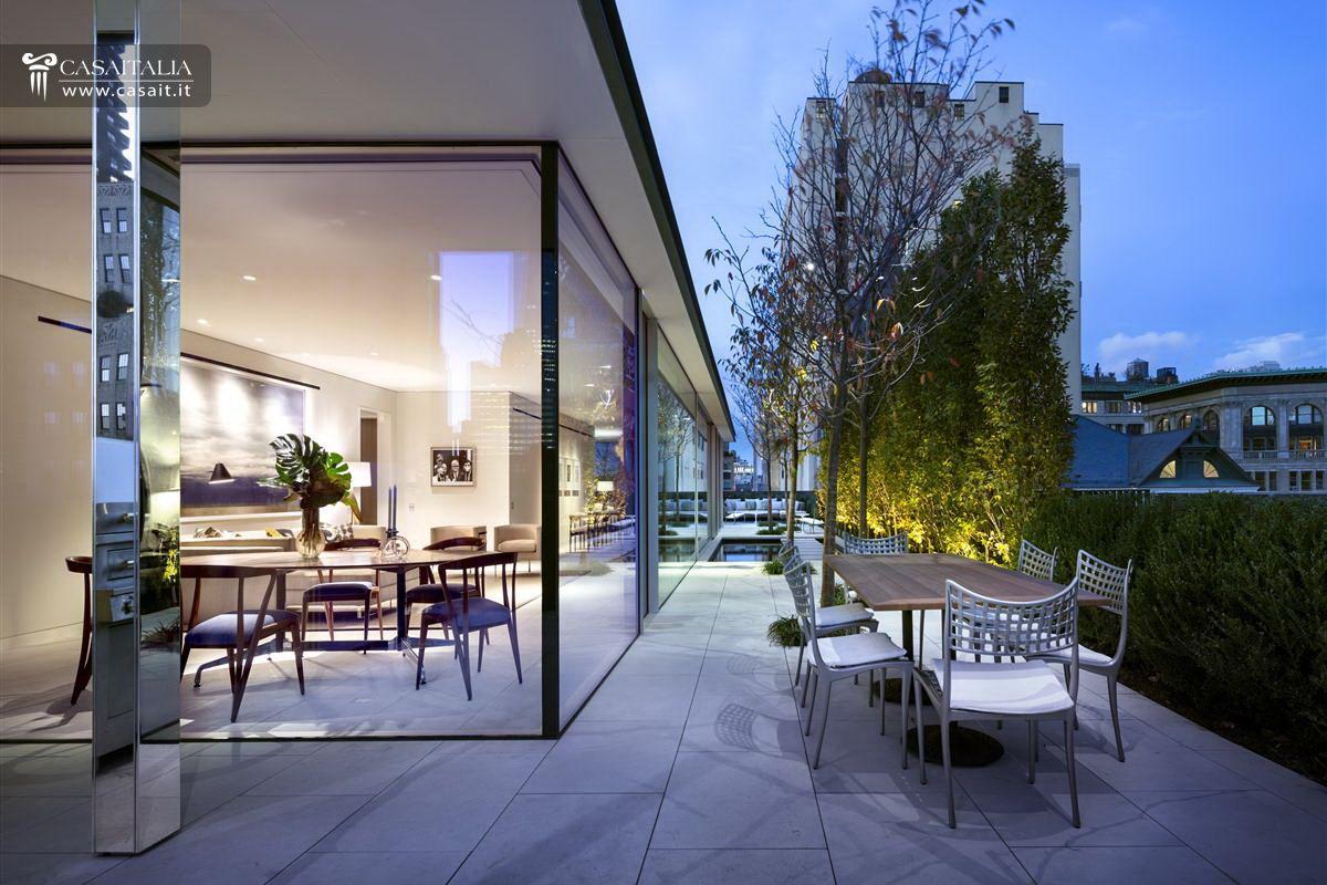 Attico di lusso con terrazzo e piscina in vendita a tribeca for Condos for sale in garden city ny