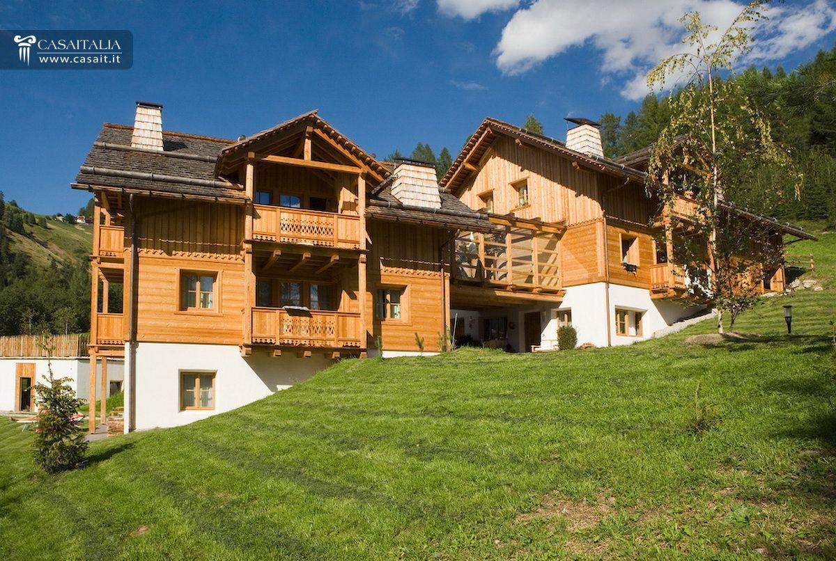Chalet appartamenti vendita dolomiti cortina montagna - Case ikea prefabbricate italia ...