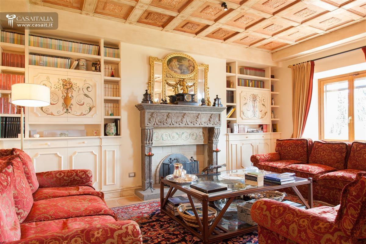 Salotto Antico Con Camino : Salotto antico con camino dalani tavolini da in