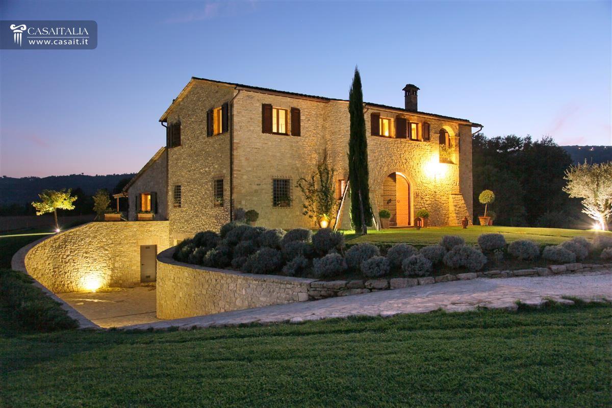 Umbria villa di lusso in vendita a todi for Case di lusso di campagna francese